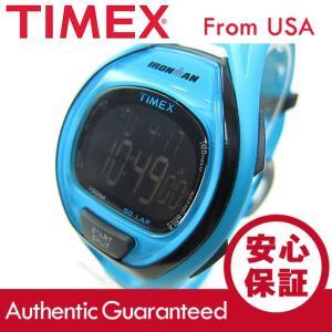 TIMEX (タイメックス) TW5M01900 IRONMAN SLEEK 50/アイアンマン スリーク 50ラップ デジタル ラバーベルト ブルー メンズウォッチ 腕時計 【あすつく】|goody-online