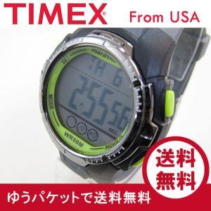 Timex (タイメックス) TW5M06700 Marathon/マラソン デジタル ラバーベルト ブラック×グリーン メンズウォッチ 腕時計 【あすつく】|goody-online