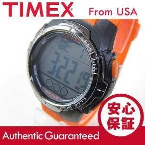 Timex (タイメックス) TW5M06800 Marathon/マラソン デジタル ラバーベルト ブラック×オレンジ メンズウォッチ 腕時計 【あすつく】|goody-online