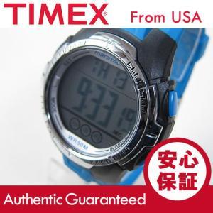 Timex (タイメックス) TW5M06900 Marathon/マラソン デジタル ラバーベルト ブラック×ブルー メンズウォッチ 腕時計 【あすつく】|goody-online