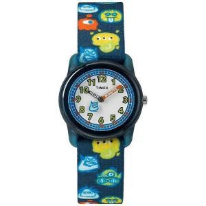 TIMEX TW7C25800 TIMEX KIDS/タイメックスキッズ ナイロンベルト モンスターズ ブルー 子供にオススメ! キッズウォッチ 腕時計 【あすつく】|goody-online
