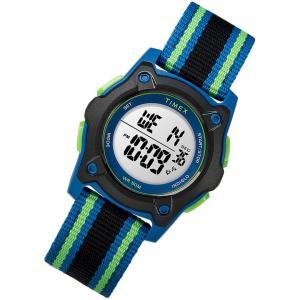 TIMEX (タイメックス) TW7C26000 Time Machines/タイムマシーン デジタル ナイロンベルト ブルー キッズ・子供にオススメ キッズウォッチ 腕時計 【あすつく】|goody-online