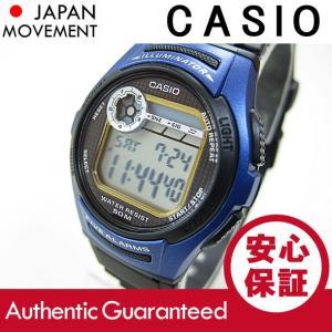 CASIO (カシオ) W-213-2A/W213-2A スタンダード デジル ブルー キッズ・子供 かわいい! メンズウォッチ チープカシオ 腕時計【あすつく】|goody-online