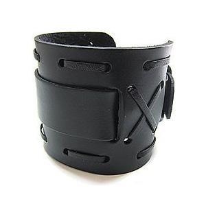 【ラグ幅:22-24mm対応】NEMESIS(ネメシス)WXB Leather Cuff/レザーカフ付け替えベルト アメリカンカジュアル 腕時計替えバンド/ベルト|goody-online