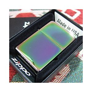 ZIPPO(ジッポー)151 Spectrum/スペクトラム PVD加工 虹色 FULL SIZE ZIPPO LIGHTER/ジッポライター【あすつく】|goody-online