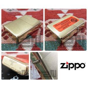 ZIPPO(ジッポー)168 ARMOR/アーマー ブラッシュBRASS/つや消しブラス FULL SIZE ZIPPO LIGHTER/ジッポライター【あすつく】|goody-online|03