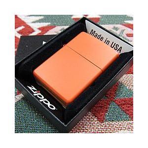 ブランド名:ZIPPO(ジッポー) / 商品名:231 Orange Matte/オレンジマット Z...