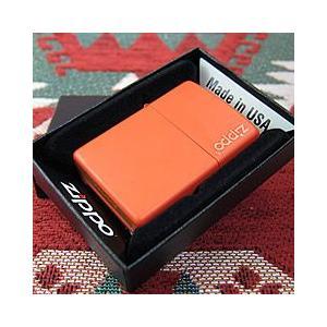 ブランド名:ZIPPO(ジッポー) / 商品名:231ZL Orange Matte/オレンジマット...
