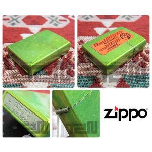 ZIPPO(ジッポー)24513 Lurid Finish/ルリッド ライムキャンディー FULL SIZE ZIPPO LIGHTER/ジッポライター 【あすつく】|goody-online|03