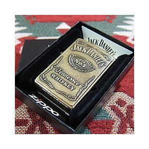 ZIPPO(ジッポー) 254bjd-428 Jack Daniels Old No.7 ブラス 真鍮 FULL SIZE ZIPPO LIGHTER/ジッポライター 【あすつく】 goody-online