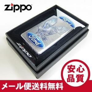 ZIPPO(ジッポー) 29296 FORD MOTOR EAGLE/フォード イーグル ブラッシュ/つや消し  FULL SIZE ZIPPO LIGHTER/ジッポライター 【あすつく】|goody-online