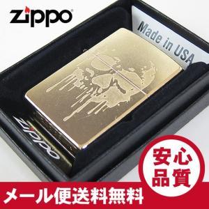 ZIPPO(ジッポー) 29401 GRUNGE SKULL/グランジ スカル Gold Dust/ゴールドダスト FULL SIZE ZIPPO LIGHTER/ジッポライター 【あすつく】|goody-online