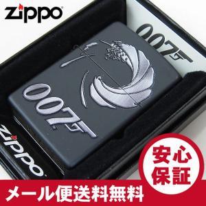 ZIPPO(ジッポー) 29566 007-JAMES BOND/ジェームス・ボンド マットブラック FULL SIZE ZIPPO LIGHTER/ジッポライター 【あすつく】|goody-online