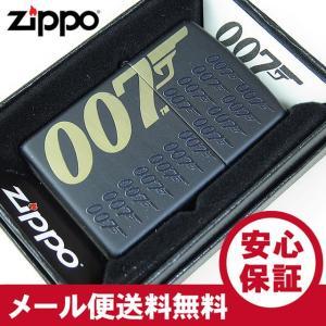 ZIPPO(ジッポー)  5791 007-JAMES BOND/ジェームス・ボンド ブラック FULL SIZE ZIPPO LIGHTER/ジッポライター 【あすつく】|goody-online