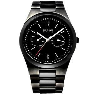 送料無料 デンマーク北欧デザイン時計BERINGベーリング セラミック カレンダー32339-792