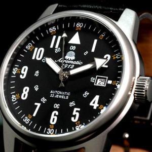 エアロマティック Aeromatic1912 エアロマチック 自動巻 正規代理店 腕時計 A1027|googoods