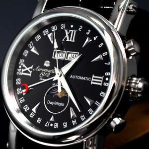 エアロマティック Aeromatic1912 エアロマチック 自動巻き 正規代理店 腕時計 A1032 即納|googoods