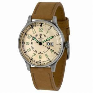 エアロマティック Aeromatic1912 エアロマチック 腕時計 パイロットウォッチ ミリタリーウォッチ BIG-DATE 正規代理店 A1254|googoods