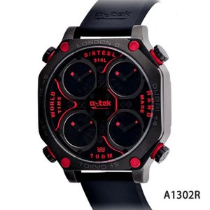 a-tek エイテック 腕時計 メンズ 4タイムゾーン GMT A1302R