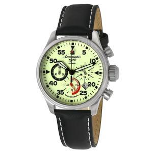 エアロマティック Aeromatic1912 エアロマチック クロノグラフ パイロットウォッチ ミリタリーウォッチ 正規代理店 腕時計 A1342|googoods