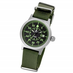 メンズ 腕時計 時計 自動巻 ミリタリーウォッチ エアロマティック Aeromatic1912 エアロマチック 正規代理店 A1354|googoods