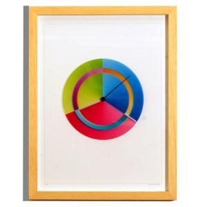 Rainbow Watch レインボーウォッチ Art circle ART-ci-natur 掛け時計|googoods