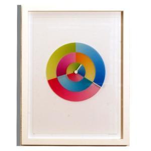 Rainbow Watch レインボーウォッチ Art hurry ART-hu-white 掛け時計|googoods