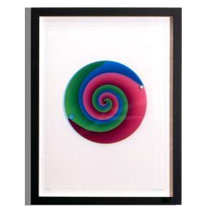 Rainbow Watch レインボーウォッチ Art vertigo ART-ve-black 掛け時計|googoods