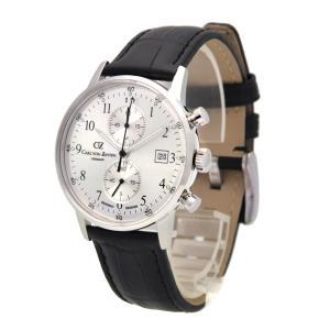 腕時計 メンズ ドイツ時計 ドイツデザイン クロノグラフ CvZ カール・フォン・ツォイテン CarlvonZeyten CvZ0012SL|googoods