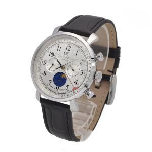 腕時計 メンズ ドイツ製 ドイツ時計 カレンダー CvZ カール・フォン・ツォイテン CarlvonZeyten CvZ0015SL|googoods