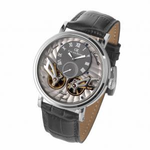 腕時計 スケルトン メンズ 自動巻 ドイツ製 ドイツ時計 雑誌モデル CvZ カール・フォン・ツォイテン CarlvonZeyten CvZ0017SGY|googoods