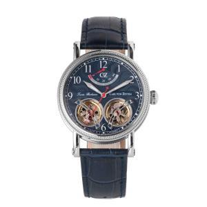腕時計 メンズ 自動巻 ドイツ製 ドイツ時計 CvZ カール・フォン・ツォイテン CarlvonZeyten CvZ0033BL|googoods