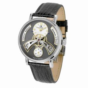 腕時計 メンズ 自動巻 ドイツ製 ドイツ時計 CvZ カール・フォン・ツォイテン CarlvonZeyten ケース幅:44mm 品番:CvZ0042GY|googoods