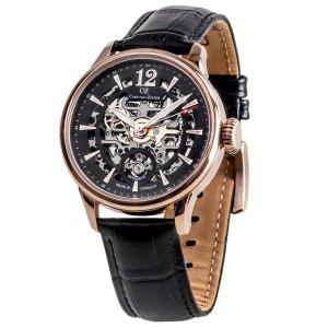 腕時計 メンズ 自動巻 ドイツ製 ドイツ時計 CvZ カール・フォン・ツォイテン CarlvonZeyten CvZ0051RBK|googoods