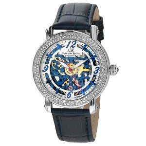 腕時計 レディース 自動巻 ドイツ製 ドイツ時計 CvZ カール・フォン・ツォイテン CarlvonZeyten CvZ0061BL googoods