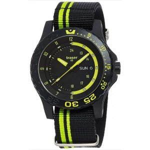 腕時計 メンズ 送料無料 TRASER スイス製 MIL-G Green spirit(ミルジー グリーン スピリット) 9031564|googoods