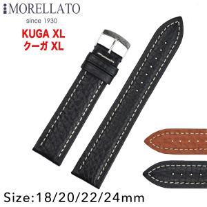 Morellato モレラート KUGA XL クーガXL レザーベルト K3689A38 時計バンド 汎用品 幅18mm/20mm/22mm/24mm|googoods