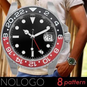 NOLOGO ノーロゴ GMTマスター NL000M 電池式...