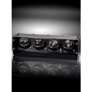 ウォッチワインダー 送料無料 ドイツデザイン ROTHENSCHILD ローテンシルト ワインディングマシーン ワインディングマシン 8本巻き RS-2301-BK|googoods