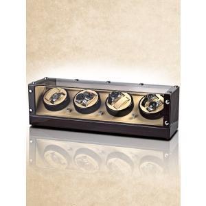 ウォッチワインダー 送料無料 ドイツブランド ROTHENSCHILD ローテンシルト ワインディングマシーン ワインディングマシン 8本巻き RS-2301-MCS|googoods