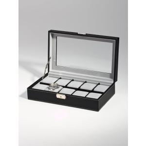 高級腕時計ケース ディスプレーボックス/コレクションケース 10本収納 ROTHENSCHILD ローテンシルト RS-3360-10BL googoods