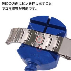 グーグッズ厳選高品質ステンレ無垢製ベルトSB200 取付幅17/19mm For swatch スウォッチ|googoods