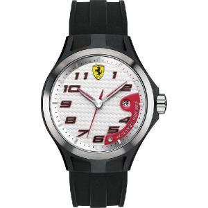 Ferrari フェラーリLap Time Black & Silver SF830013|googoods