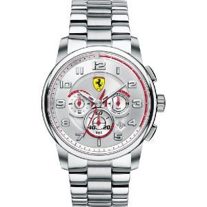 送料無料 Ferrari フェラーリHeritage Chrono クロノグラフ Steel SF830055|googoods
