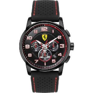 送料無料 Ferrari フェラーリHeritage Chrono クロノグラフ All Black SF830063|googoods