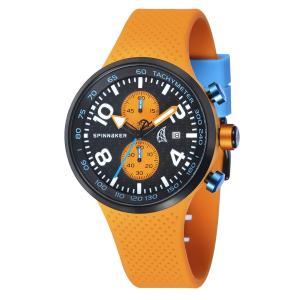 SPINNAKER スピネーカー 電池式クォーツ 腕時計 メンズ ケース幅:48mm 品番:SP-5029-01|googoods