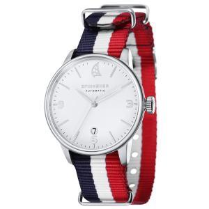 SPINNAKER スピネーカー 自動巻き(手巻き機能あり) 腕時計 メンズ ケース幅:40mm 品番:SP-5047-01|googoods
