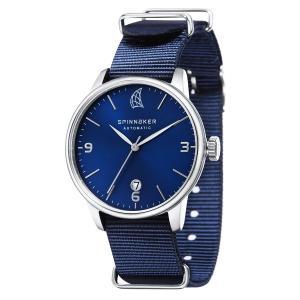 SPINNAKER スピネーカー 自動巻き(手巻き機能あり) 腕時計 メンズ ケース幅:40mm 品番:SP-5047-04|googoods