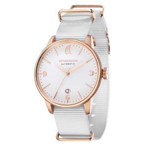 SPINNAKER スピネーカー 自動巻き(手巻き機能あり) 腕時計 メンズ ケース幅:40mm 品番:SP-5047-05|googoods