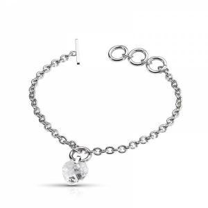 特別価格 Morellato bracelets モレラート ジュエルシリーズ ハートブレスレット SRN16|googoods